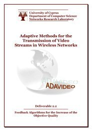 Adaptive Methods for the Transmission of Video Streams in Wireless ...