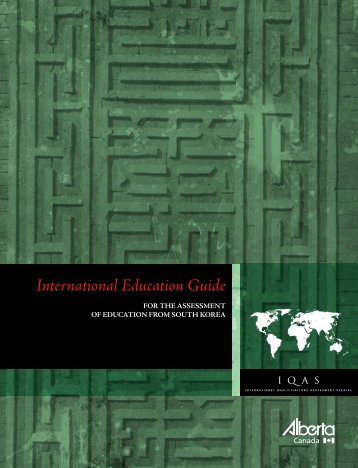 International Education Guide - Korea - Enterprise and Advanced ...