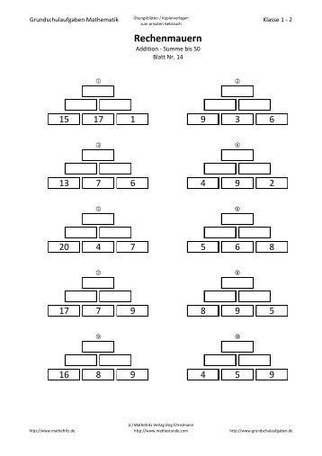 Fantastisch Math Fakten Zu 20 Arbeitsblatt Bilder - Mathematik ...
