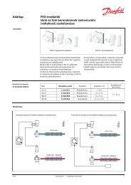 Hűtő és fűtő berendezések szekvenciális