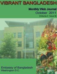 September - The Embassy of Bangladesh in Washington DC