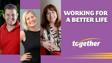 working for a better life - Together
