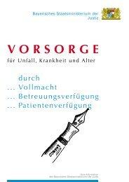 Vorsorge für Unfall, Krankheit und Alter - Theology.de