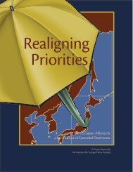 Realigning Priorities: The U.S.-Japan Alliance and the Future of ...