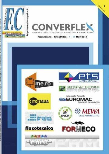 Camis presenterà a Converflex 2013 - international media ...