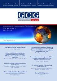 2009 Vol. 3 Num. 1 - GCG: Revista de Globalización, Competitividad ...