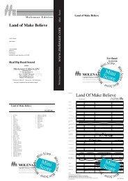 Mini Score - Molenaar Edition
