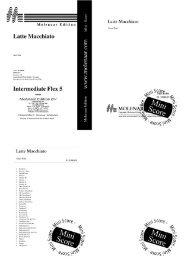 Mini-score - Molenaar Edition