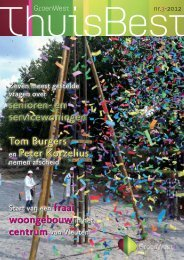 ThuisBest nummer 3 - september 2012 - GroenWest