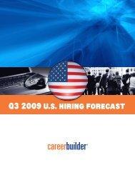 Q3 2009U.S. Hiring forecaSt - Icbdr