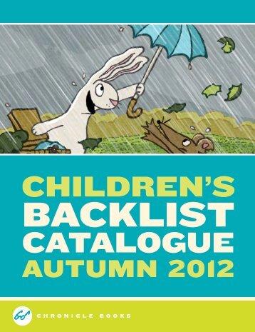 UK Kids Backlist (PDF) - Chronicle Books