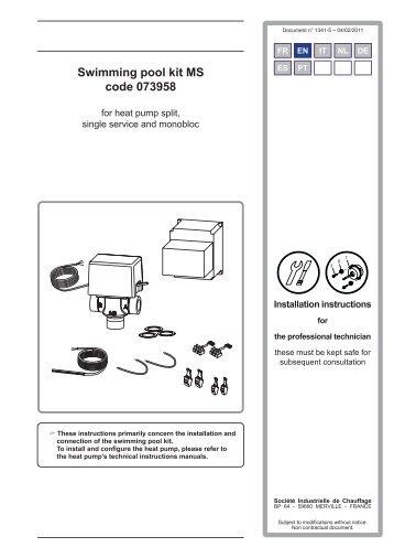 Swimming pool kit MS code 073958 - Atlantic-comfort.com