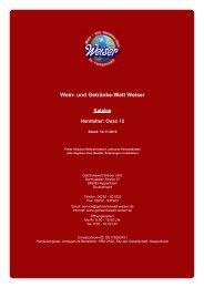 Katalog für Hersteller: Ouzo 12 - Wein