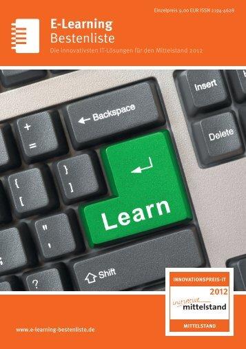 Bestenliste E-Learning - IT-Bestenliste