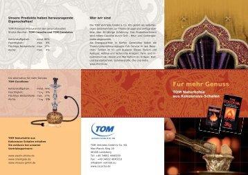 Für mehr Genuss - TOM Vertriebs GmbH & Co KG