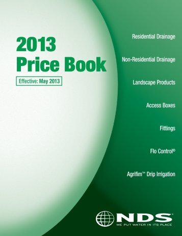 2013 Price Book - NDS