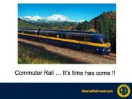 Commuter rail: its time has come - Renewable Energy Alaska Project