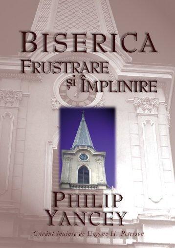 Biserica: frustrare si împlinire - capitolul 1