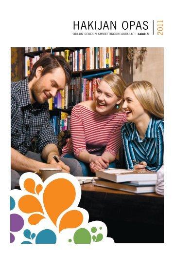 Hakijan opas 2011 PDF - Oamk