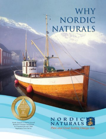 Nordic Naturals is voted #1 Overall Brand for Consumer Satisfaction ...