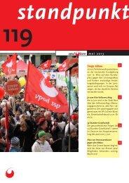Standpunkt 119, Mai 2013 - vpod Bern
