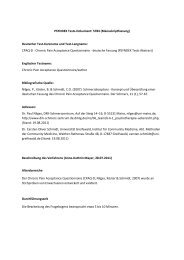 PSYNDEX Tests-Dokument: 5784 (Manuskriptfassung ... - ZPID