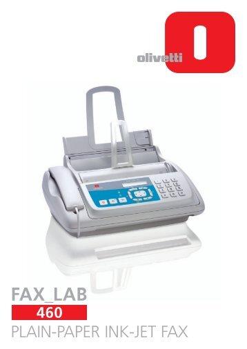 PLAIN-PAPER INK-JET FAX - Olitecint.com