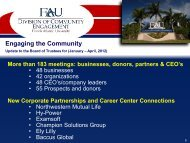 May 2012 CE/FAUF Presentation