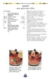 Soupe aux poivrons rôtis - Pastene