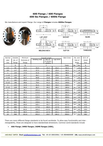 Bs en 1092 2 flange dimensions pdf