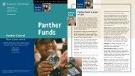 Using Panther Funds - Panther Central - University of Pittsburgh
