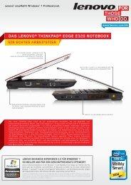 ein echtes arbeitstier das lenovo® thinkpad® edge e320 notebook