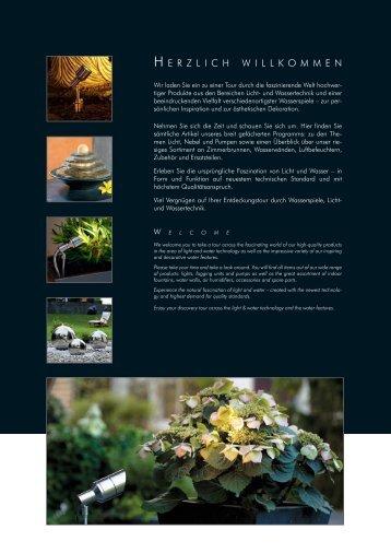 Complete lighting set in 3 steps - Aquagarden
