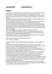 Jahresbericht 1998 Junkie-Bund Köln e.V. Personal ... - VISION eV