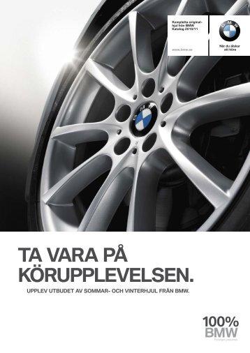 Ladda ner BMW Hjulfolder 2010/2011.