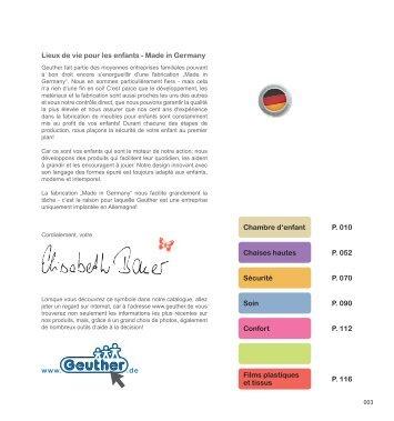 Lieux de vie pour les enfants - Made in Germany ... - Decofinder