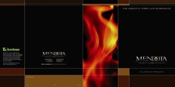 FullView Fireplace Brochure - Classic Pool and Spa