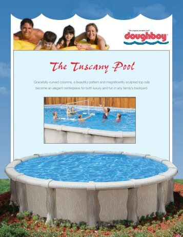The Tuscany Pool - Classic Pool and Spa