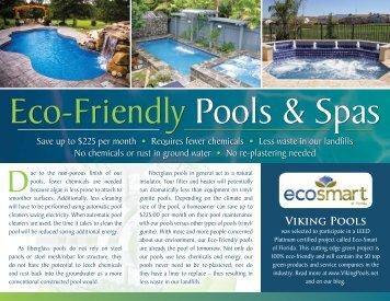 Viking Pools Green Brochure - Classic Pool and Spa