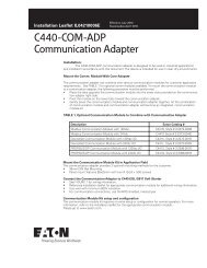 C440-COM-ADP Communication Adapter.pdf - of downloads