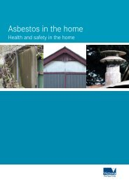 Asbestos in the home: health and safty in the home