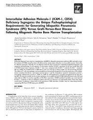 Intercellular Adhesion Molecule-1 (ICAM-1, CD54) Deficiency ...