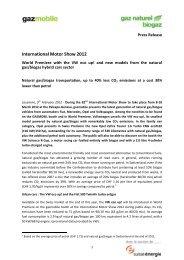 International Motor Show 2012 - Press Release