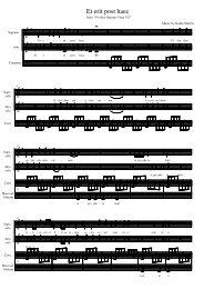Finale 2005a - [Et erit post haec.MUS] - Koor & Stem