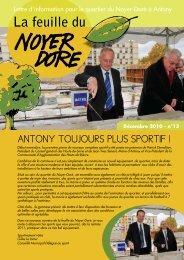 Téléchargez la feuille du Noyer Doré - N°13 - Ville d'Antony