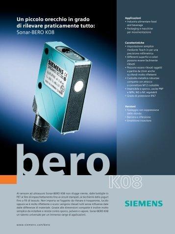 Sonar-BERO K08 - Siemens
