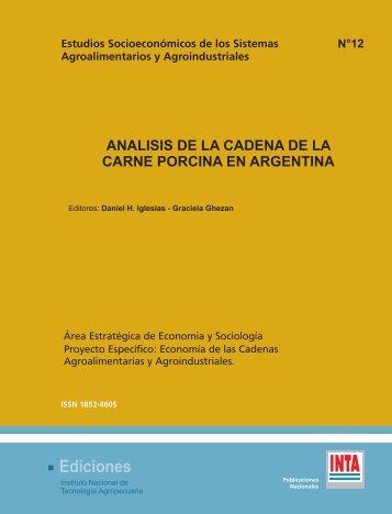 analisis de la cadena de la carne porcina en argentina - INTA