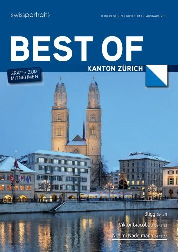 KANTON ZÃœRICH - Home > best of, Swissportrait