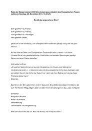 Rede der Bürgermeisterin Elfi Scho-Antwerpes anlässlich des ...