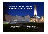 Presentation - Kier Group